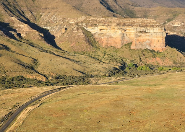 Национальный парк голден-гейт-хайлендс в южной африке Бесплатные Фотографии