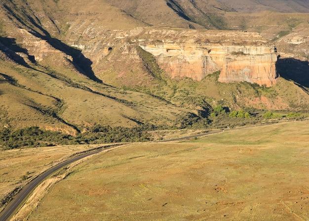 Parco nazionale golden gate highlands in sud africa Foto Gratuite