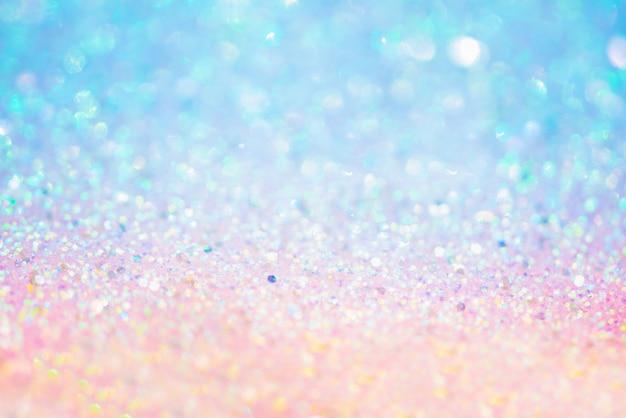 Золотая текстура блеска colorfull размытый абстрактный фон на день рождения новогодняя ночь или рождество Premium Фотографии