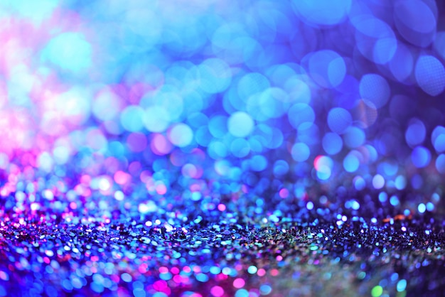golden glitter texture colorfull blurred abstract background for birthday new year eve premium photo