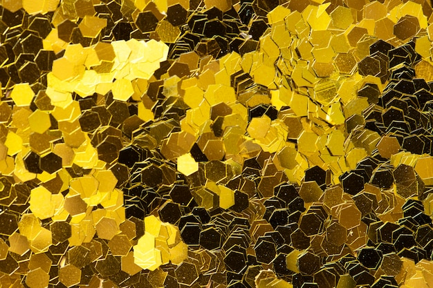 Golden glitter textured background abstract Free Photo