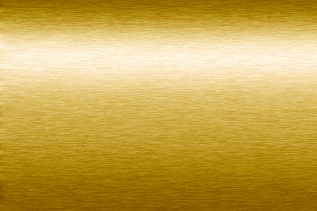 Golden metallic textured background Free Photo