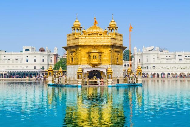 Golden temple Premium Photo