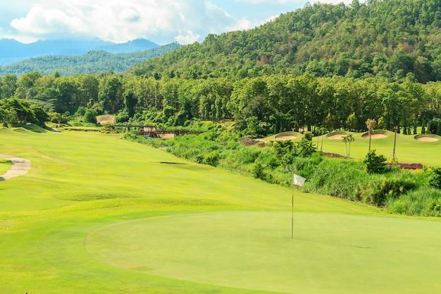 골프장 풍경 무료 사진