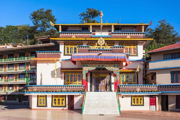 Gonjang monastery, sikkim Premium Photo