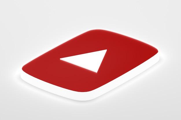 Google 최소한의 로고 3d 렌더링 디자인 배경 템플릿에 가까이 프리미엄 사진