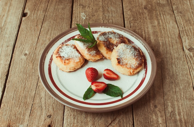 Gourmet breakfast Premium Photo