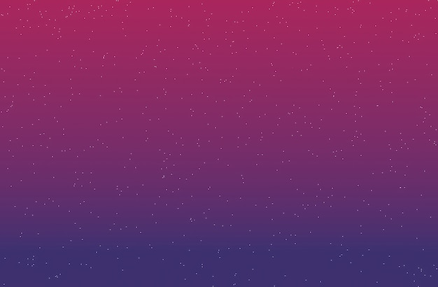 Gradient background with stars purple and dark pink 3d rendering. Premium Photo