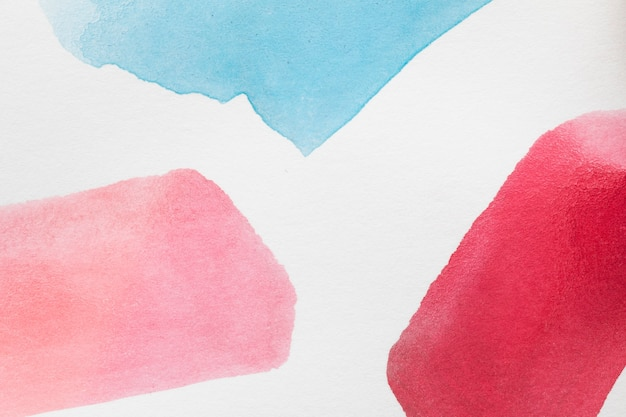 Gradient red shades hand painted stains Free Photo