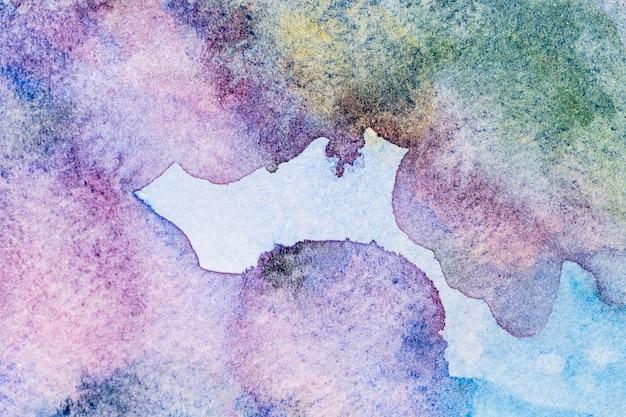 그라데이션 바이올렛 수채화 복사 공간 패턴 배경 무료 사진