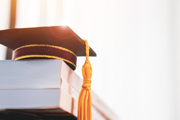 Graduated or graduation university study abroad international conceptual, Premium Photo