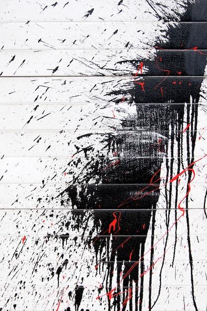 Graffiti black spray Premium Photo