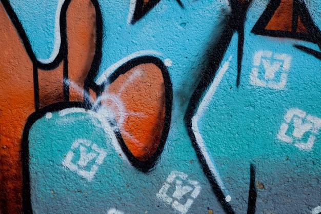 Graffiti in thw wall Premium Photo