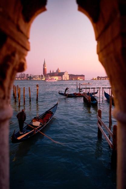 大運河、ヴェネツィア、イタリア 無料写真