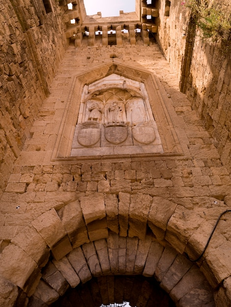 Grand masters palace in rhodes greece Premium Photo