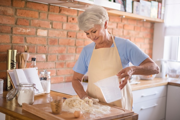 Grandmother does the best bakes Free Photo