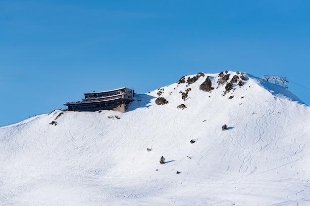 안도라의 Grandvalira 스키장. 무료 사진