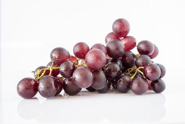 Grape on white background Free Photo
