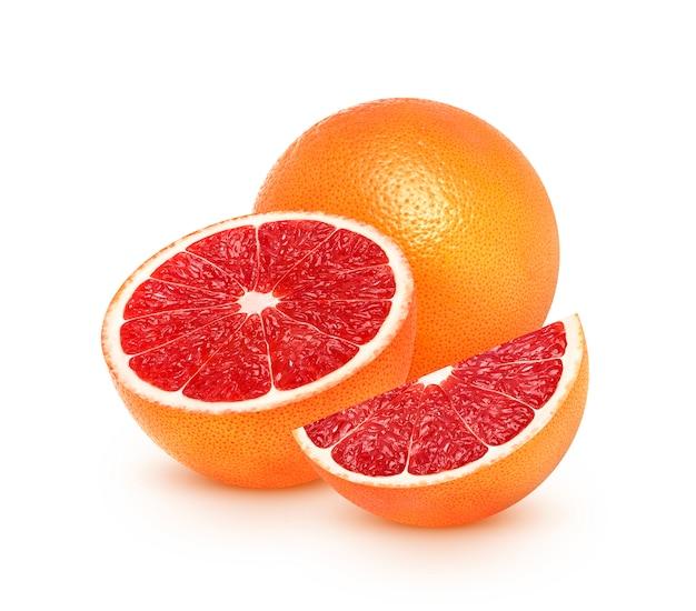 Grapefruit citrus fruit isolated Premium Photo