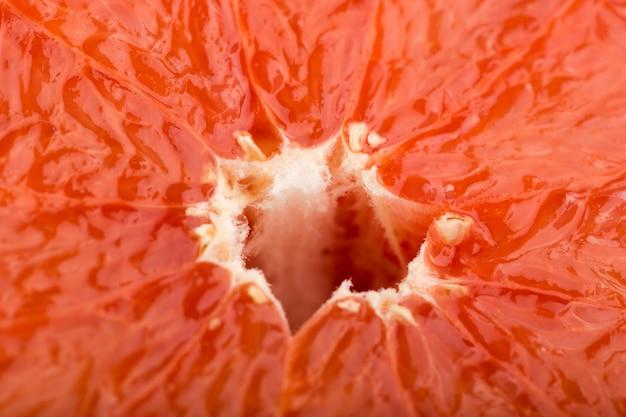 Грейпфрут свежая сочная спелая мякоть Бесплатные Фотографии