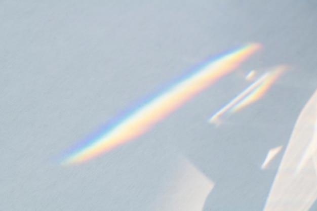 무지개 반사와 회색 Defocused 금속 표면 무료 사진