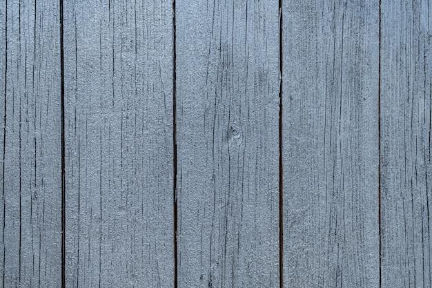 Struttura di legno verniciata grigia della parete di legno per fondo e struttura. Foto Gratuite