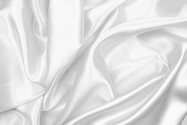 Gray silk texture luxurious satin for abstract background | Premium Photo