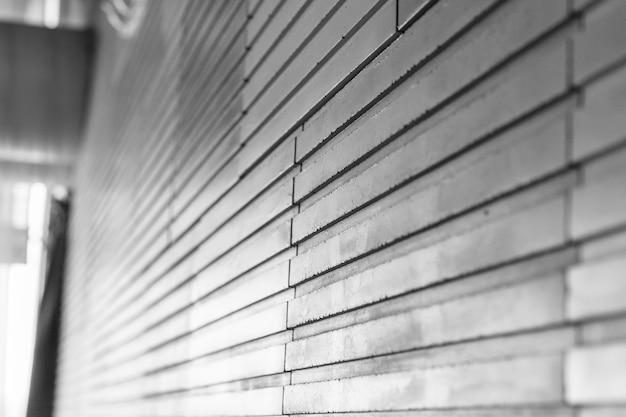 Gray wall tile Premium Photo