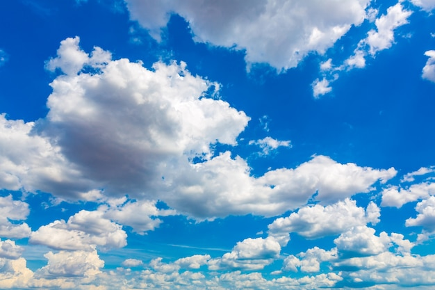 Great Blue Sky With Clouds Photo
