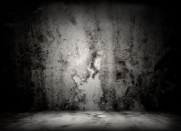 Great grungy wall - great for use as your background Free Photo