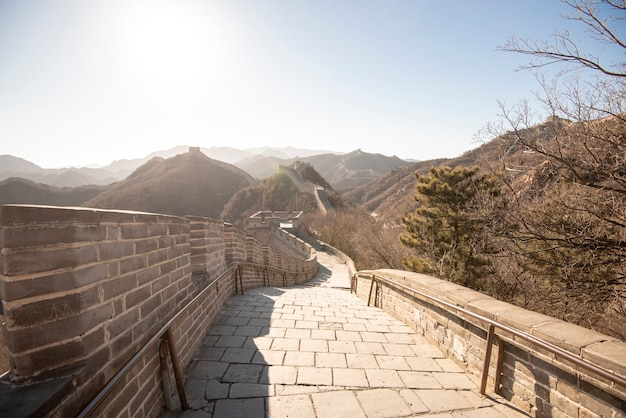 Great wall of china Premium Photo