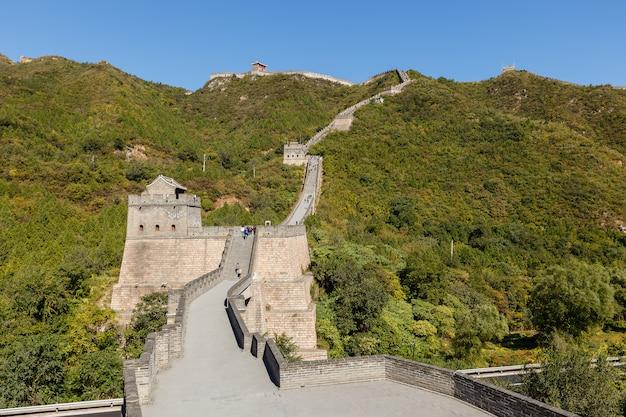Great wall of china Premium Photo
