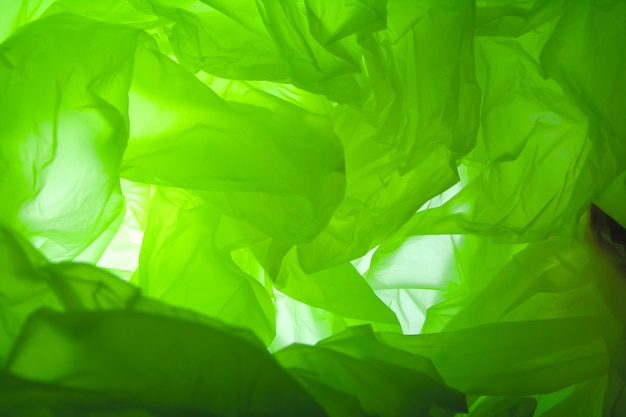Green abstract background. Premium Photo