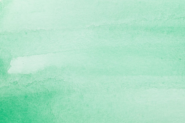 Green abstract watercolour macro texture background Free Photo