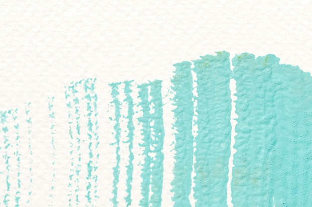 緑のアクリルブラシストローク 無料写真