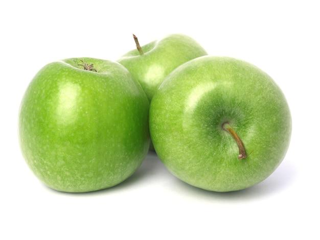Зеленые яблоки Premium Фотографии