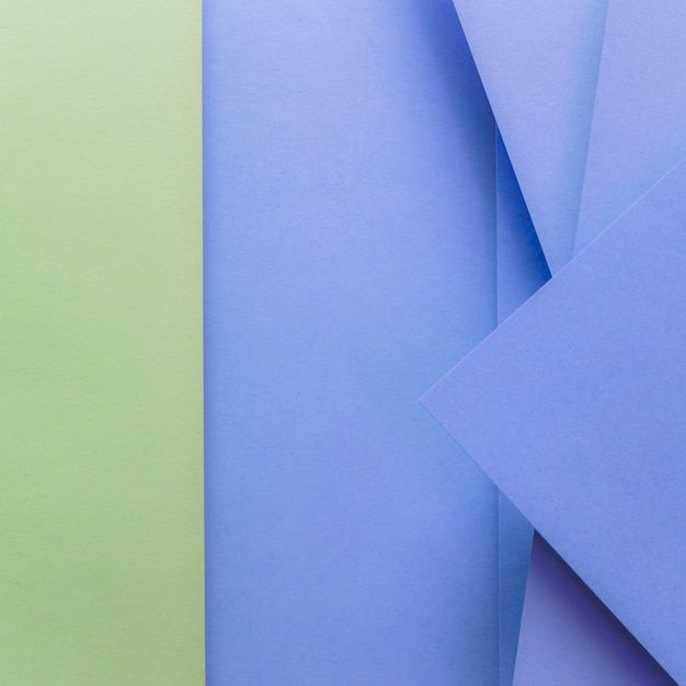 Green and blue colored paper backdrop Free Photo