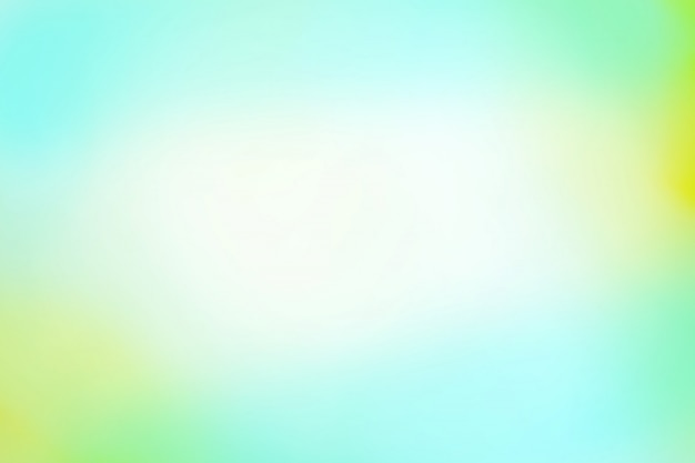 Green bokeh background. defocused abstract green background Premium Photo