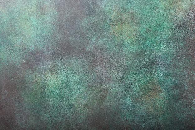 Green concrete stone background texture. Premium Photo