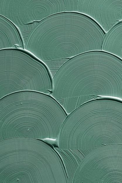녹색 곡선 브러시 획 텍스처 무료 사진