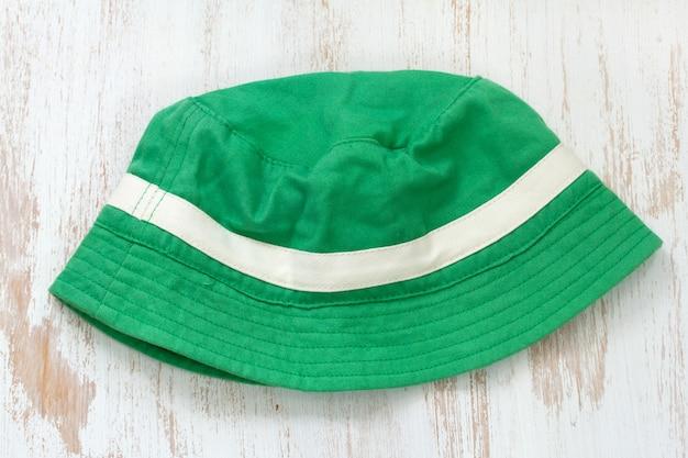 Green hat Premium Photo