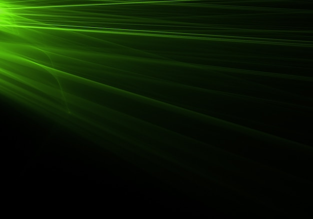 green rays background - photo #33