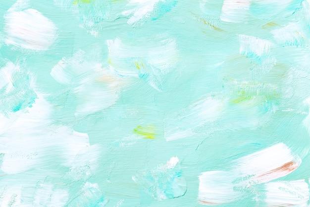 Sfondo verde dipinto Foto Gratuite