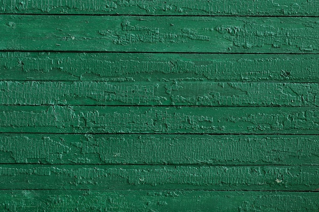 Green painted wood with horizontal stripes Free Photo