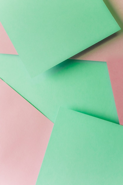 Green and pink pastel paper texture background Free Photo
