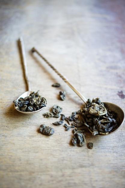 Green tea Premium Photo