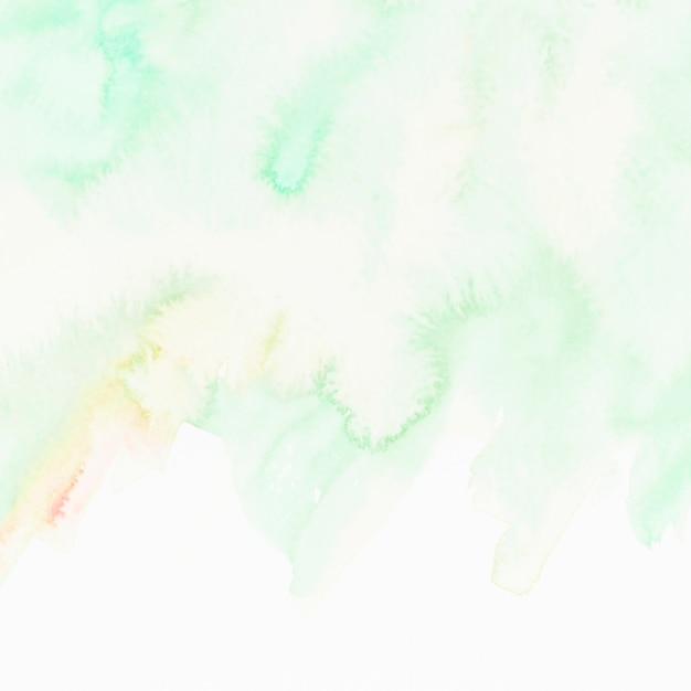 Green textured hand painted background Free Photo