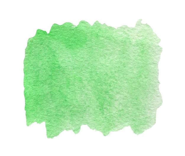 Зеленая акварель аннотация Premium Фотографии