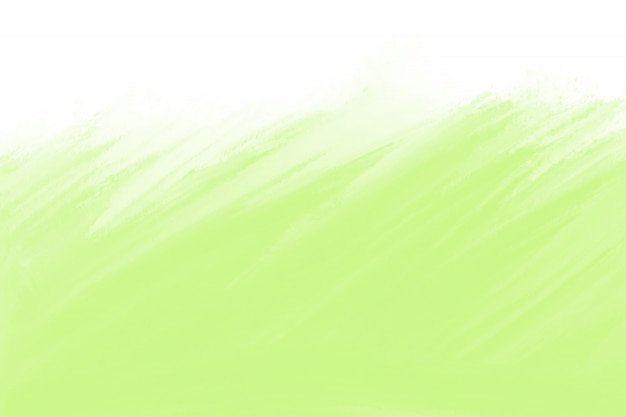 Green watercolor texture with space for text Free Photo
