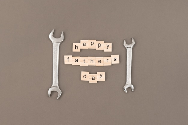Greeting card to celebrate father's day Premium Photo